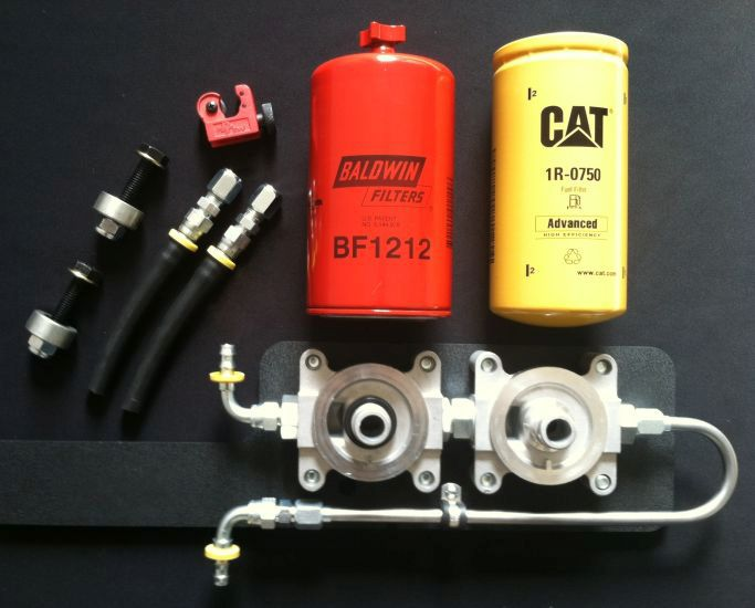 Dfk on Cat Diesel Fuel Filter Base